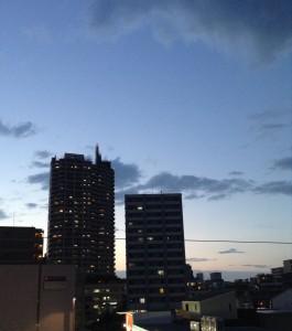 sunset20140612