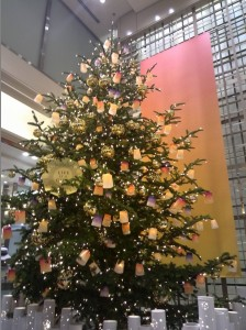 Christmas tree Mitsukoshi20161123